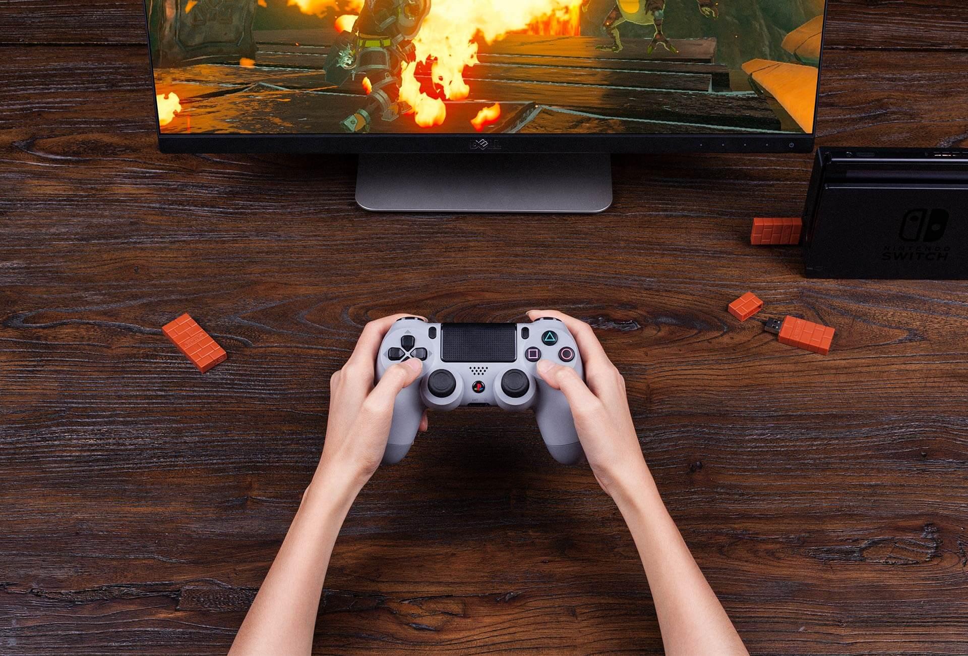 SwitchでPS4のコントローラーを使う方法
