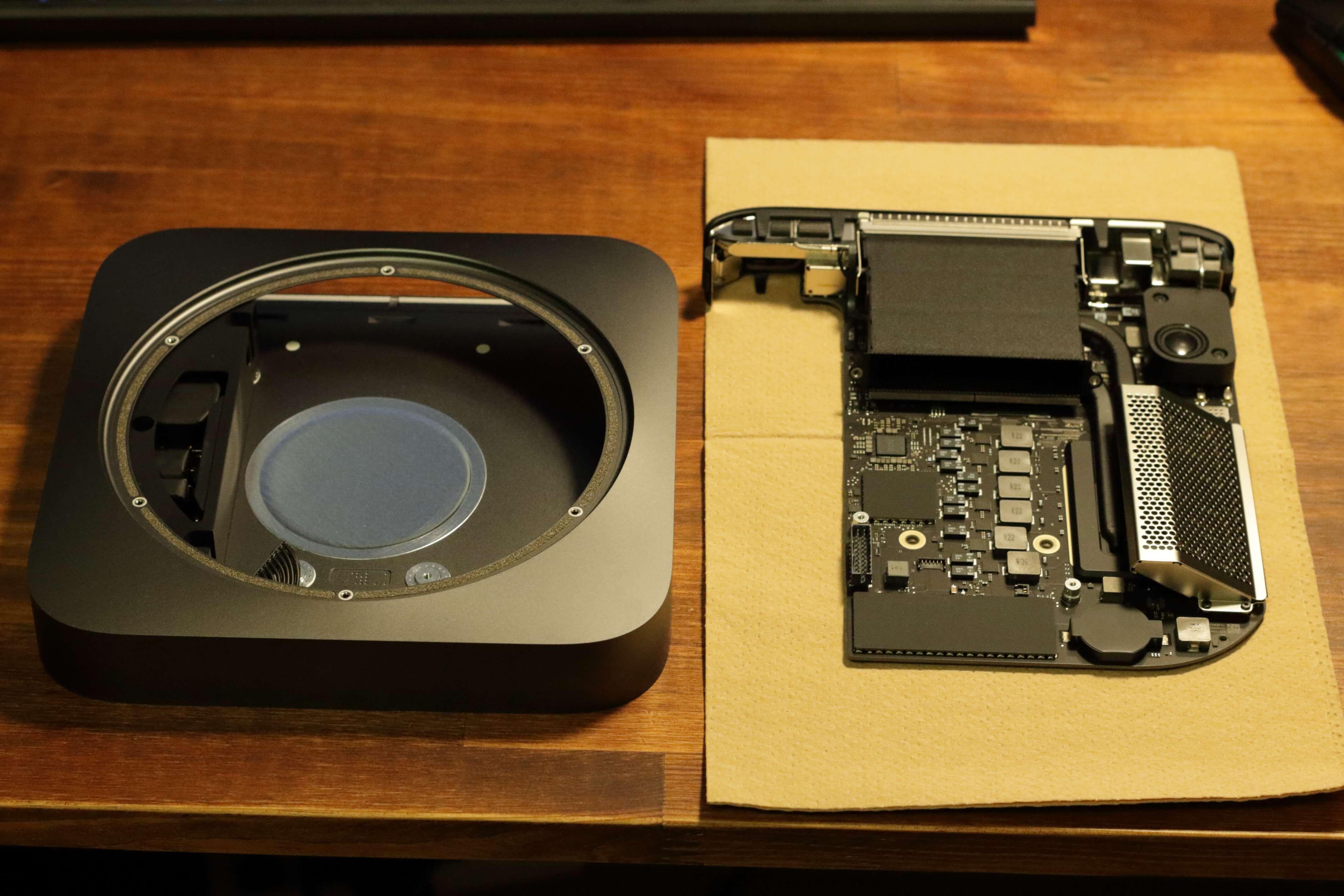 Mac miniのメモリを増設する方法